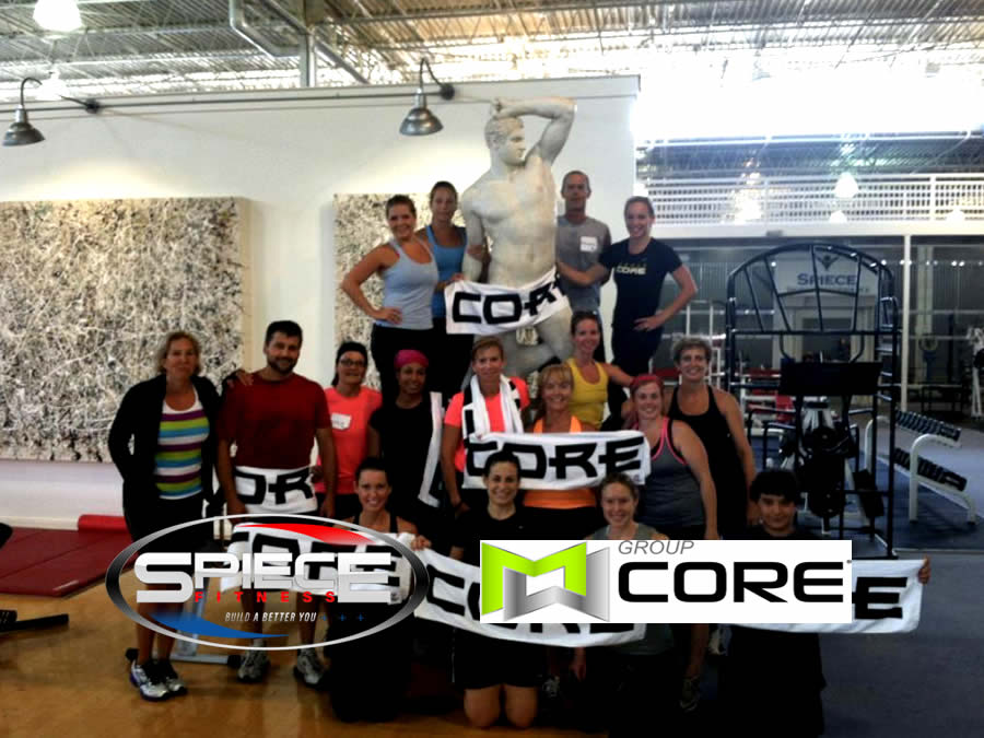Group Core - Fitness Class