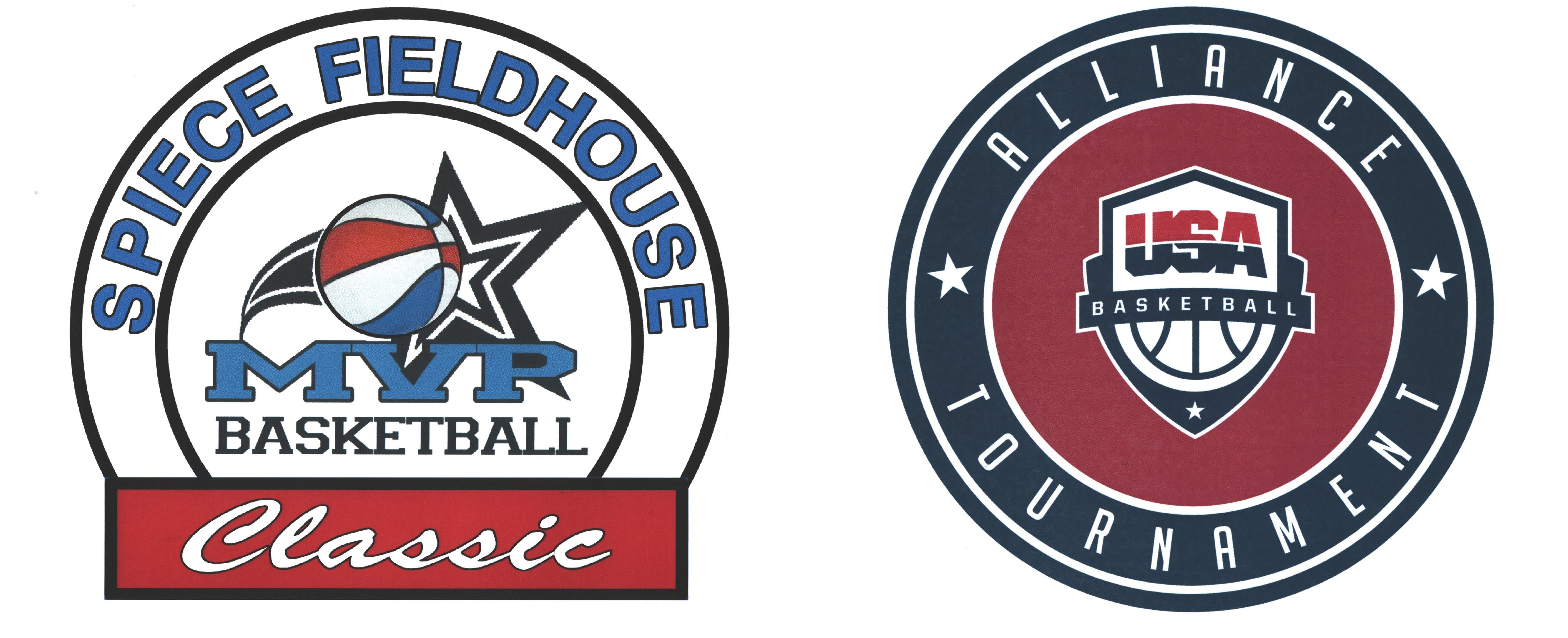 Fieldhouse Classic And Alliance Basketball logos